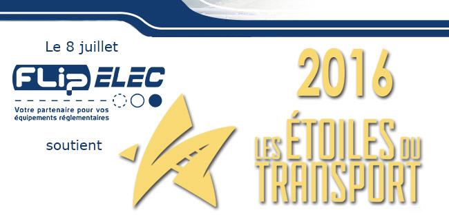 Flip-ELec soutient les Etoiles du transport 2016