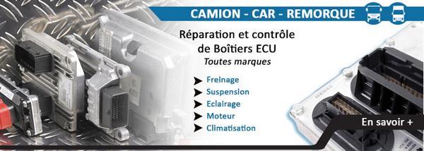Réparation de boitiers ECU